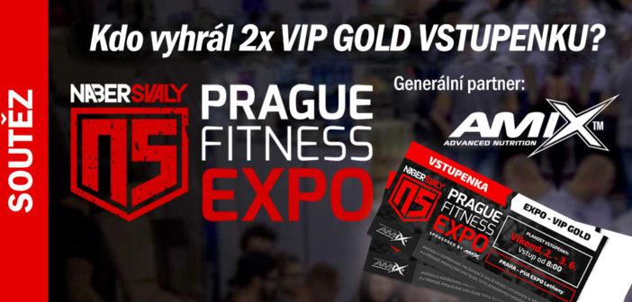 Vylosovali jsme výherce 2x VIP GOLD vstupenky na 2018 NS Prague Fitness Expo!