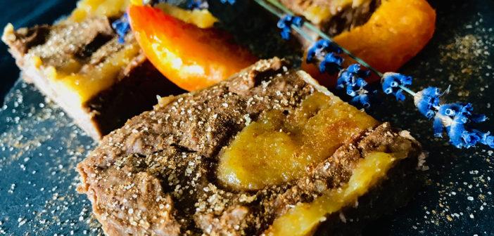 Recept na jablečné veganské řezy