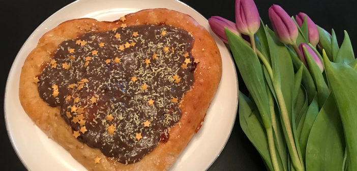 Valentýnská rychlo pizza